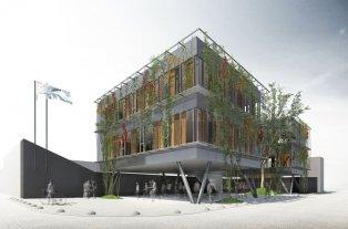 Construirán un nuevo Centro Cívico Municipal en Rincón - La presentación del proyecto ejecutivo fue diseñado de forma participativa contemplando la mirada de los trabajadores municipales y los vecinos. -