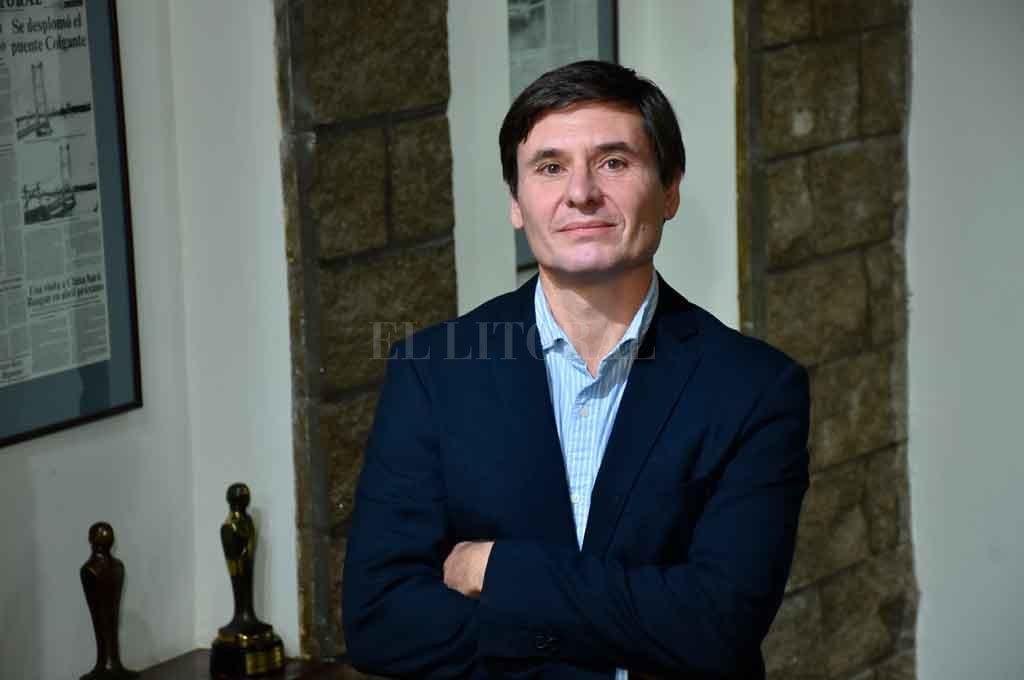 AUTORIDAD. El C.P.N. Fernando Siboni es el director actual de AGL. También forma parte de la Gerencia de El Litoral SRL. Crédito: Flavio Raina.