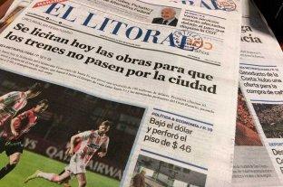 Pese al paro general, diario El Litoral sale con normalidad