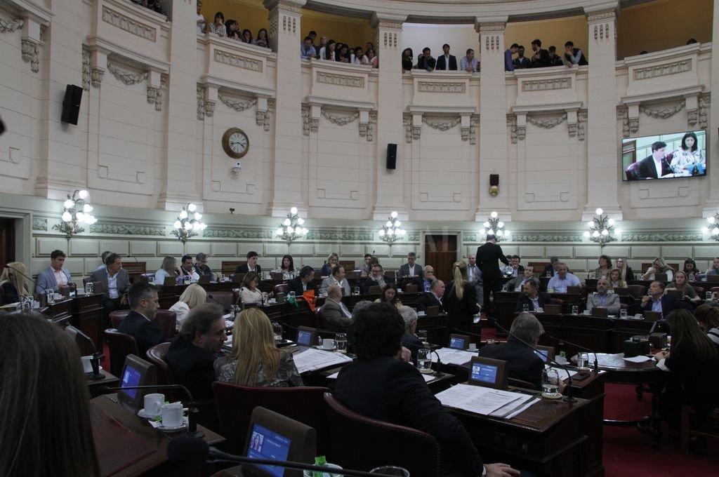 Cámara de Diputados de la Provincia. <strong>Foto:</strong> Archivo El Litoral