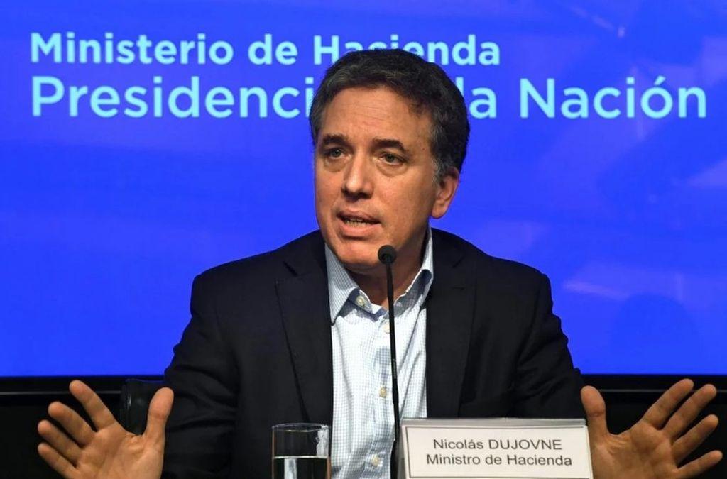 Nicolás Dujovne, ministro de Hacienda de la Nación. Crédito: Archivo