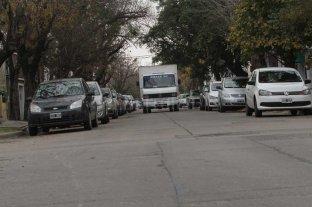 Mal estacionamiento masivo en barrio Fomento 9 de Julio