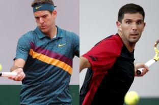 Del Potro y Delbonis buscan dar un nuevo paso en Roland Garros