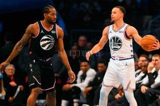 Comienzan las finales de la NBA entre Golden State y Toronto