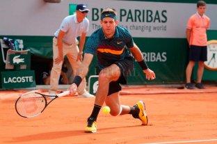 Del Potro ganó y alcanzó la tercera ronda de Roland Garros