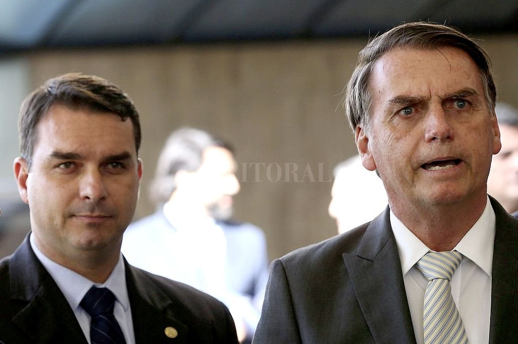 Los Bolsonaro. <strong>Foto:</strong> Captura digital