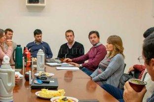 Acceso a la vivienda: Simoniello y Henn se reunieron con agrimensores