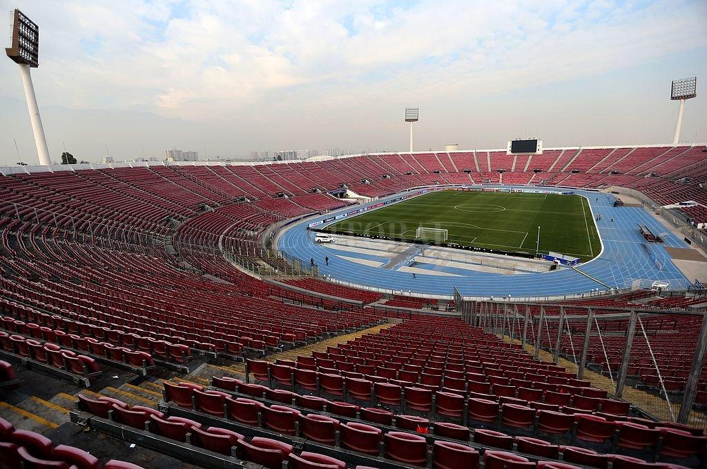 Estadio Nacional de Santigao. <strong>Foto:</strong> Archivo El Litoral