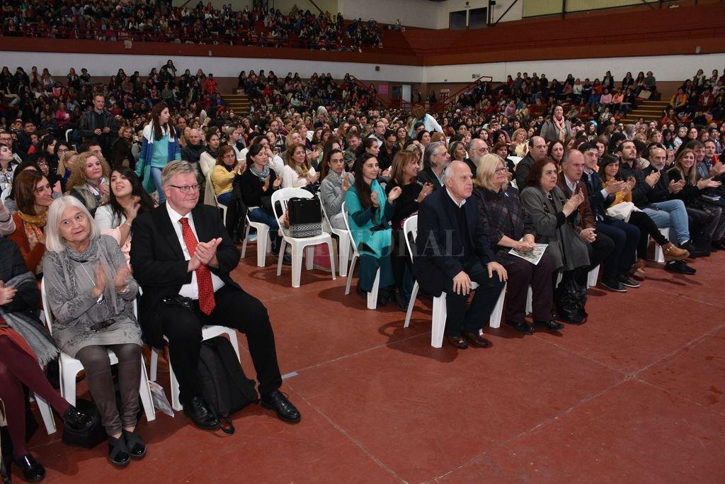 Con disertantes internacionales, la jornada se desarrolló este sábado en la UTN. Crédito: Guillermo Di Salvatore