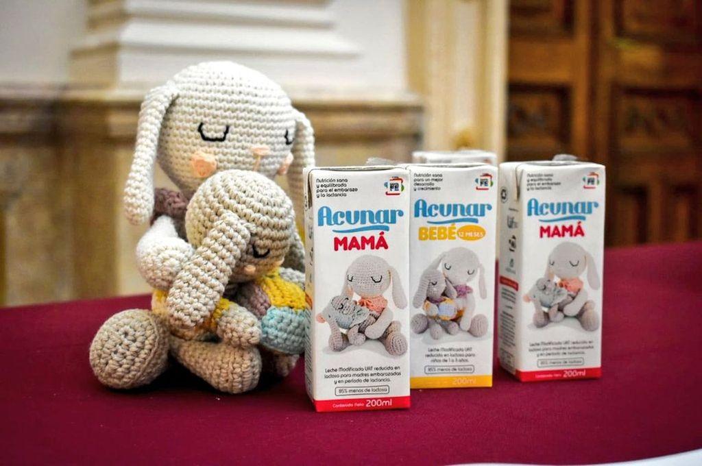 El producto tendrá tres líneas: Acunar Mamá, Bebé y Niñez. <strong>Foto:</strong> Gentileza
