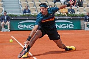 Del Potro va por el pasaje a cuartos de final en Roland Garros