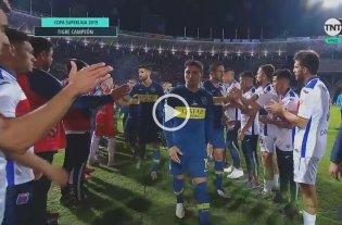 Video: Zárate no quiso saludar a los jugadores de Tigre