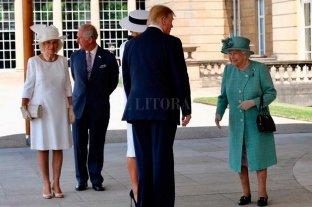 Trump arribó a Londres y comienza su agenda de reuniones
