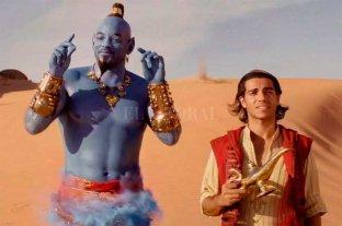"""""""Aladdin"""", primera en recaudaciones en Argentina"""