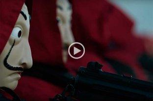 Video: nuevas imágenes de La Casa de Papel 3 en el tráiler final