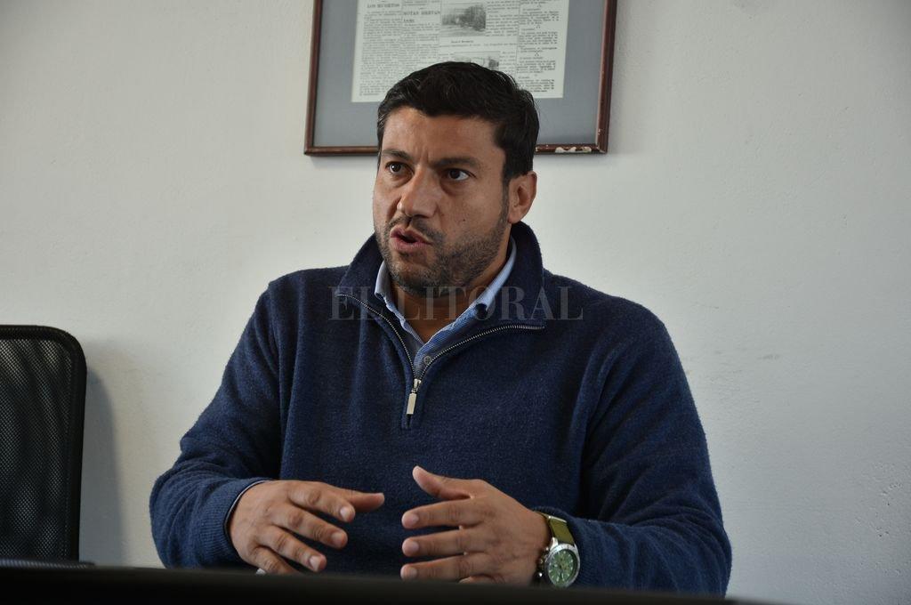 Gabriel Chumpitaz, candidato a diputado por Cambiemos. <strong>Foto:</strong> Luis Cetraro