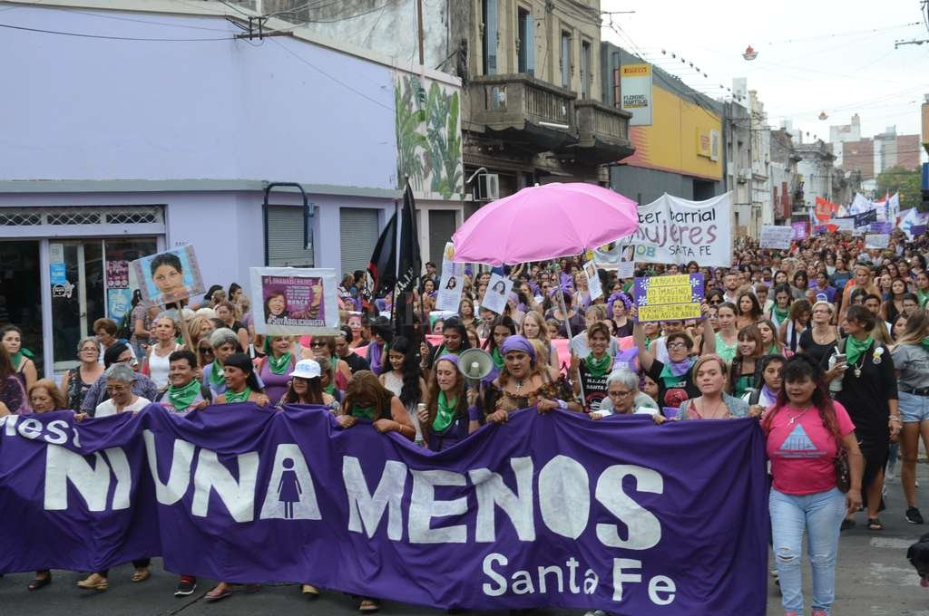 Quinto año. Hoy se conmemora la masiva movilización que se repite cada 3 de junio en distintas ciudades del país. Crédito: Luis Cetraro (archivo)