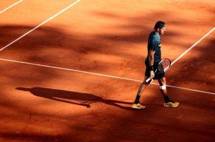 Del Potro no pudo con Khachanov y se despidió de Roland Garros