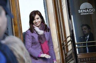 Cristina Kirchner estuvo en el Senado y no asistió al juicio en su contra