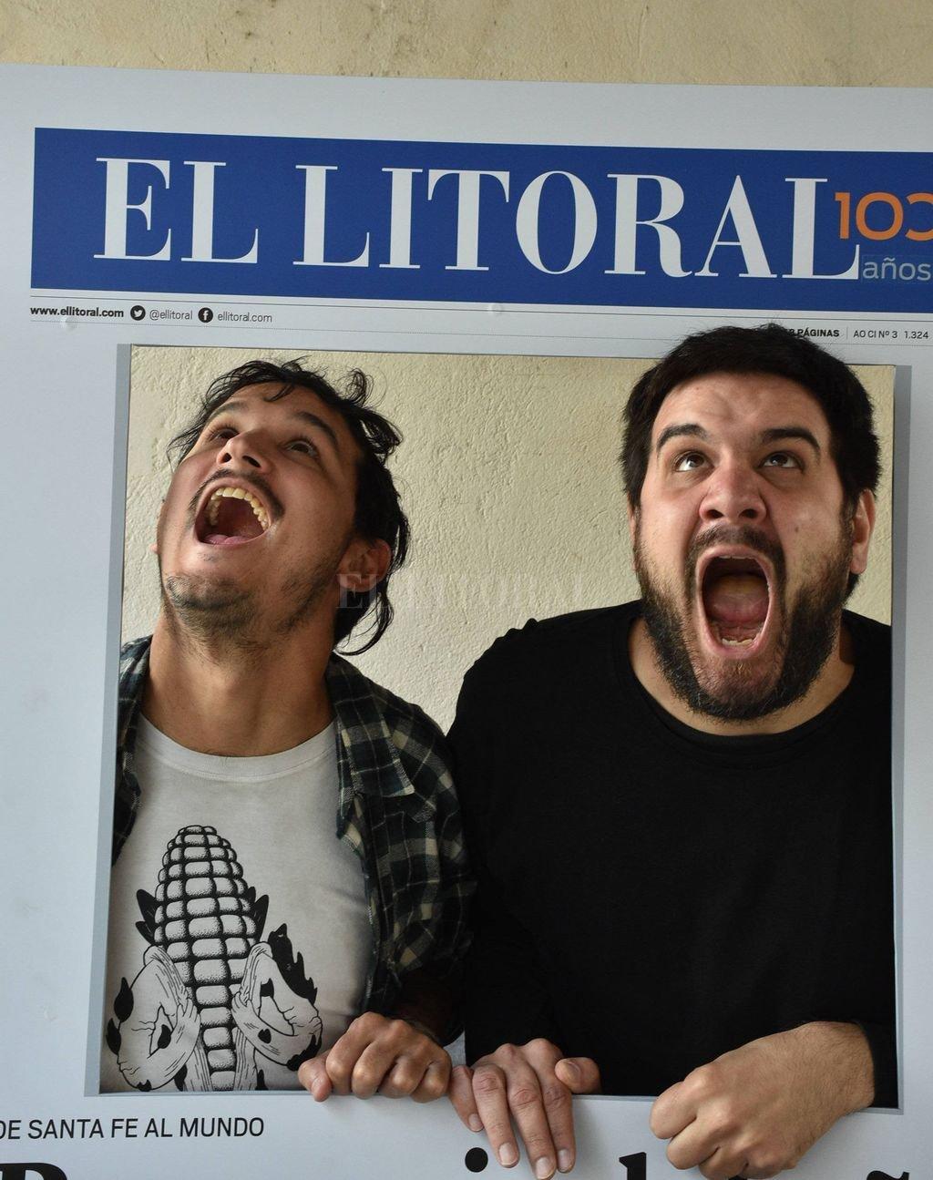 Sueño de portada: Castro y Dalmasso, llevando sus locuras personales a las primeras planas. <strong>Foto:</strong> Luis Cetraro