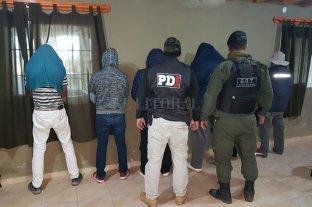 7 detenidos por abigeato