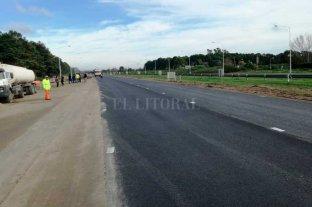 Finalizan la repavimentación de los primeros 100 km de la Autopista