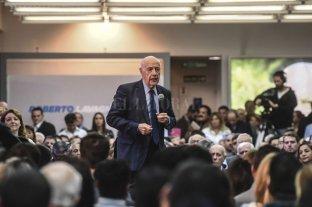 Lavagna lanzó su precandidatura y oficializó su alejamiento de Alternativa Federal