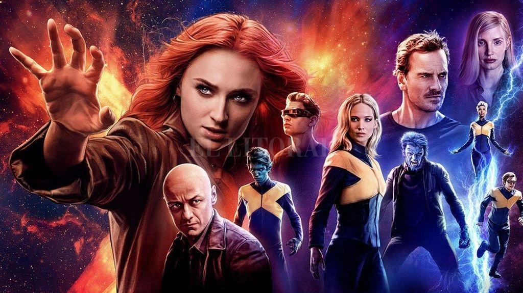 Los X-Men se enfrentan a su enemigo más formidable y poderoso: uno de los suyos, Jean Grey, devenida en fuerza cósmica. Crédito:  Gentileza 20th Century Fox