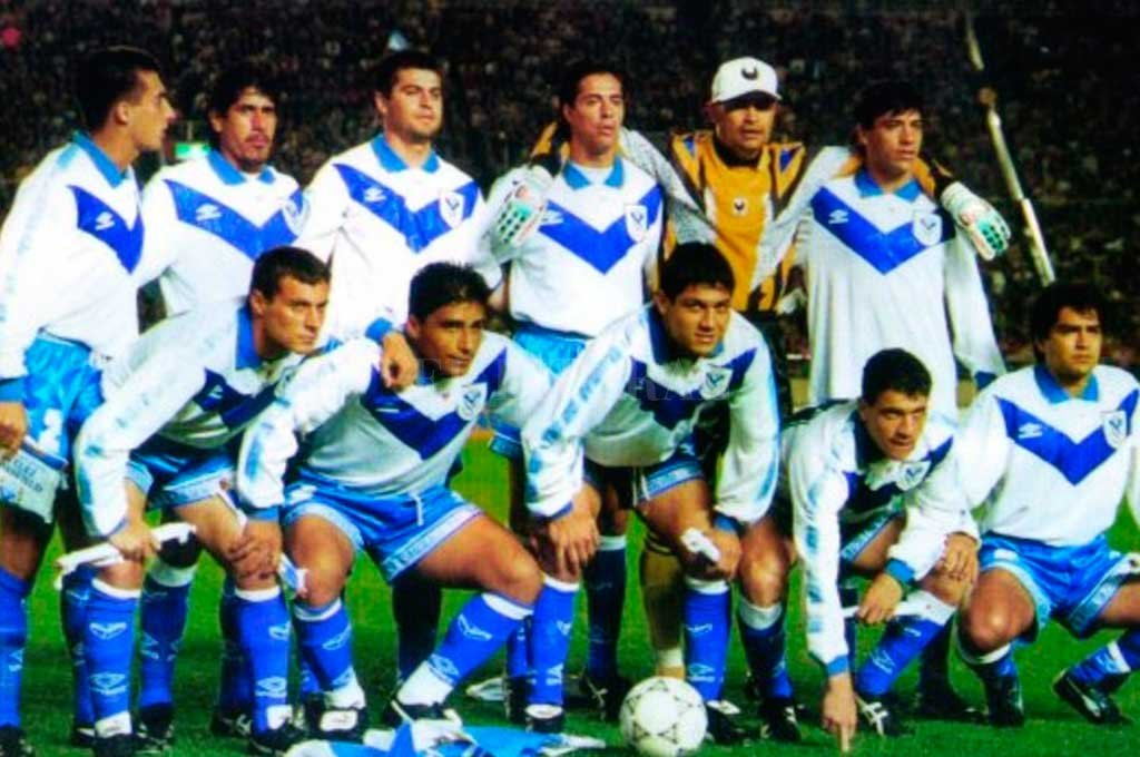 Vélez, último campeón de la Intercontinental en 1994 Crédito: Clarin