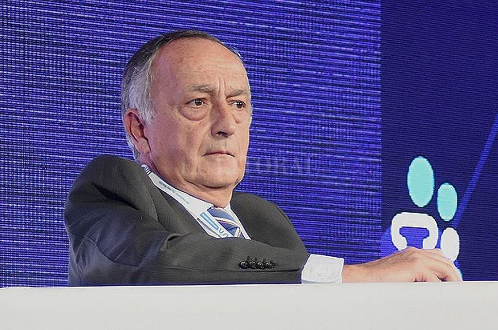 Miguel Acevedo, presidente de la UIA. <strong>Foto:</strong> Archivo El Litoral