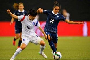 Inicia el Mundial femenino con el partido entre Francia y Corea
