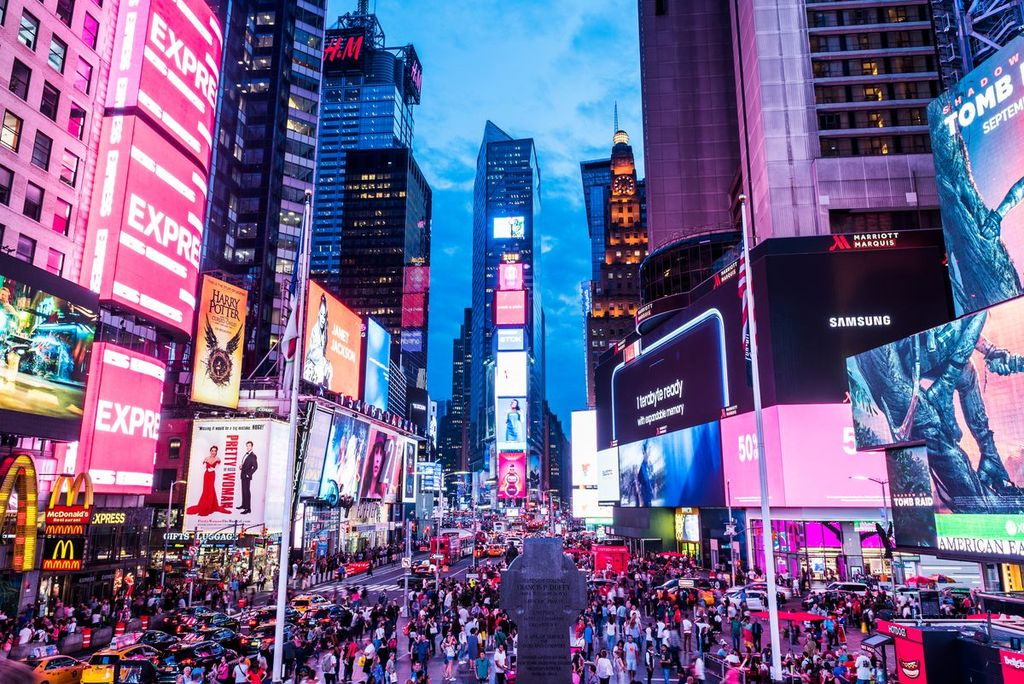 Times Square. <strong>Foto:</strong> Imagen ilustrativa.