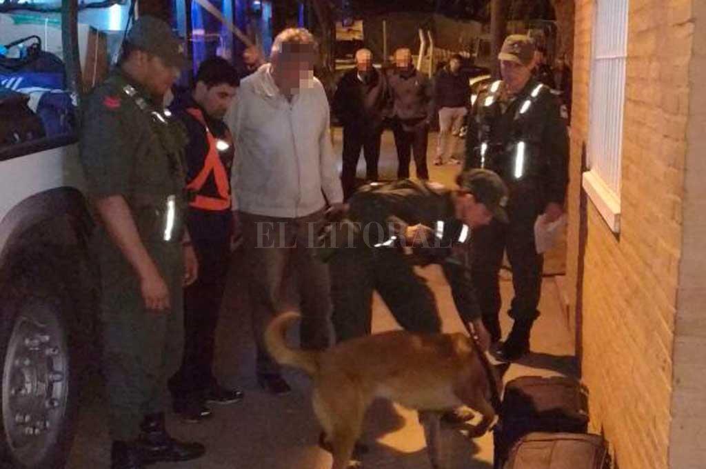 Los acusados viajaban en un micro de larga distancia, con destino a Buenos Aires, cuando fueron interceptados por Gendarmería en la entrada a Rafaela. Crédito: Archivo El Litoral