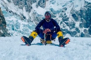 Un santafesino escaló la tercera montaña más alta del mundo