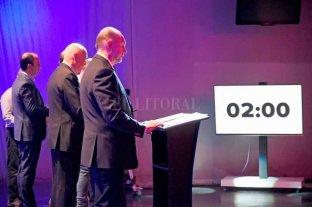 El detrás de escena del debate de candidatos a gobernador