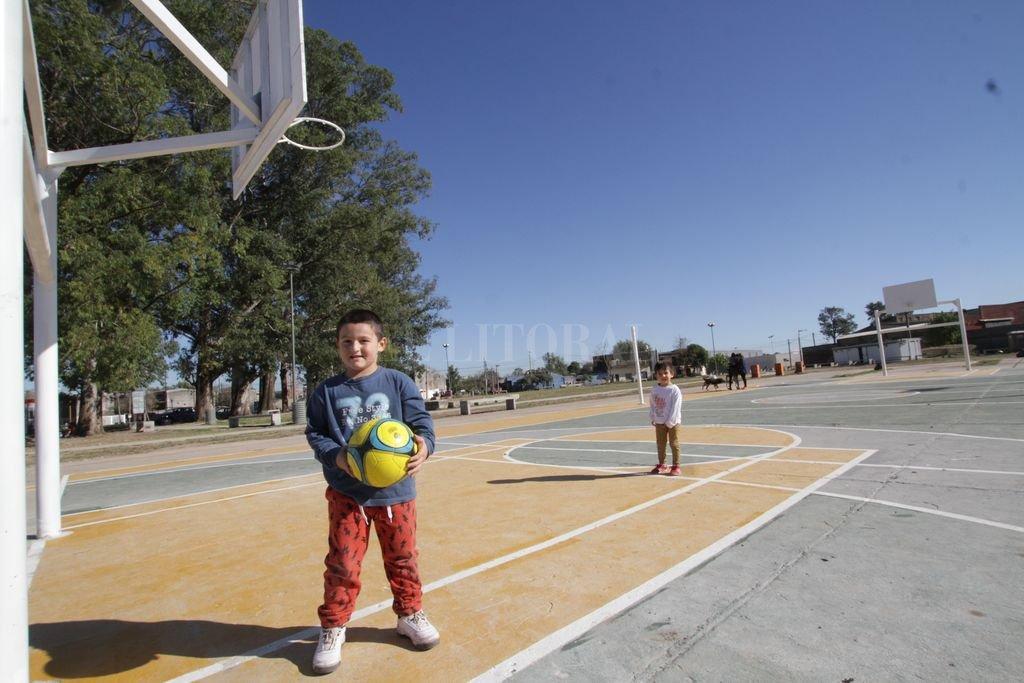 El Alero en Acería será un espacio de contención para chicos y jóvenes, donde se podrán realizar diversas actividades deportivas y lúdicas. Crédito: Mauricio Garín