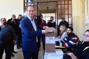 Elecciones en Entre Rios: el voto de Gustavo Bordet