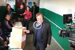 Elecciones en Entre Rios: el voto de Sergio Varisco