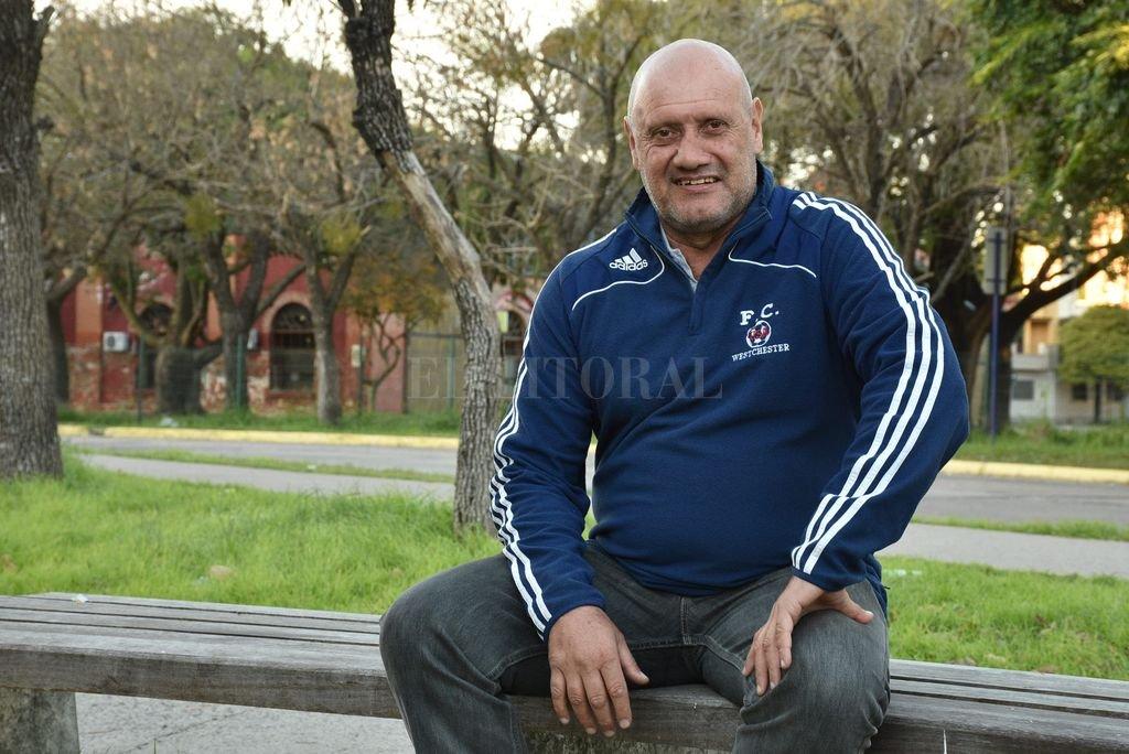 Claudio Mir ya decidió qué hacer de su vida: se quedará en Santa Fe. <strong>Foto:</strong> Luis Cetraro