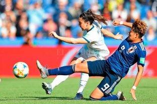 Argentina debutó en el Mundial de Fútbol Femenino con un empate ante Japón