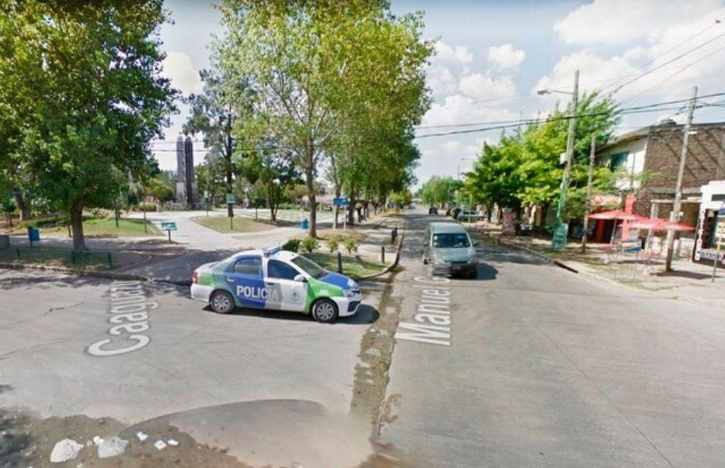 Caguazú y Gómes Fretes, la esquina donde apareció el auto <strong>Foto:</strong> Imagen ilustrativa.