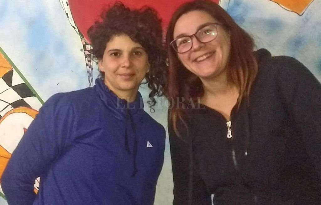 Oriana Ferrero y María Paz Pilotti, las docentes del seminario. <strong>Foto:</strong> Gentileza organizadores