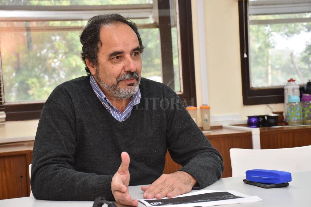 Edgardo Seguro, subsecretario de Gestión Ambiental de la provincia. Crédito: Flavio Raina