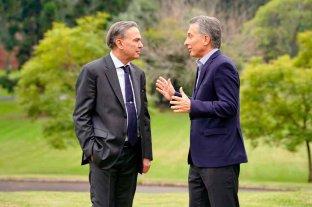 Macri - Pichetto: la primera foto como fórmula presidencial -  -