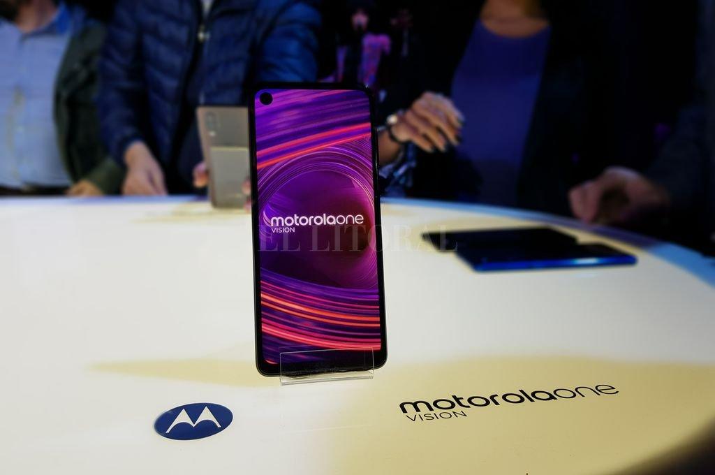 El nuevo Motorola One Vision se presentó este martes en la ciudad de Buenos Aires. Crédito: El Litoral