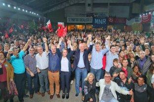 El Frente Progresista cerró su campaña en la ciudad de Santa Fe