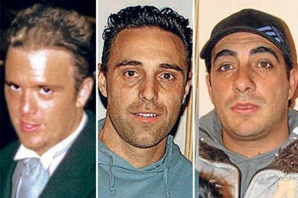 Forza, Ferrón y Bina, asesinados en 2008. <strong>Foto:</strong> Captura digital