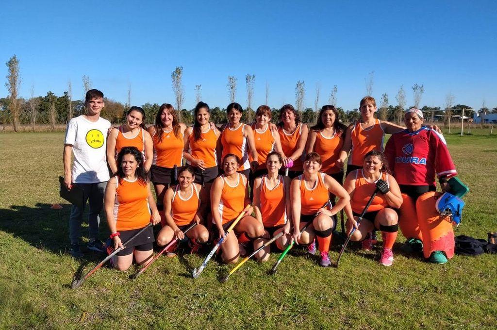 Sin abrir el marcador. Las Mamis de Independiente (foto) empataron 0 a 0 el último sábado ante San Ceferino, por la sexta fecha del torneo de ACESAMH.  <strong>Foto:</strong> Gentileza ACESAMH