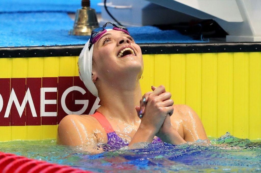 Natación: Delfina Pignatiello quebró otro récord argentino en Francia