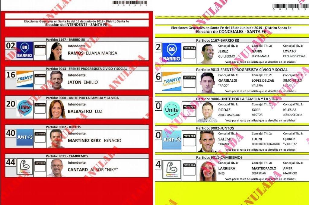<strong>Foto:</strong> Tribunal Electoral de Santa Fe